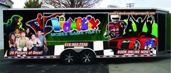 It's the Kidnetix Mobile Game Party...
